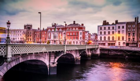 Cork bridge Ireland